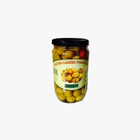 OLIVE CASSEE PIMENTEE 680 GR