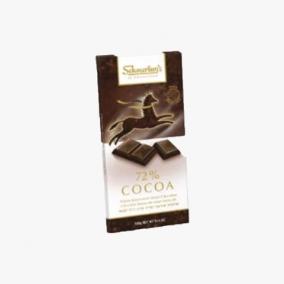 CHOCO NOIR 72 % SCHMER 100G