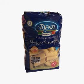 MEZZI RIGATONI RIENZI 454 GR