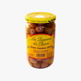 OLIVES CASSEES CITRONS...