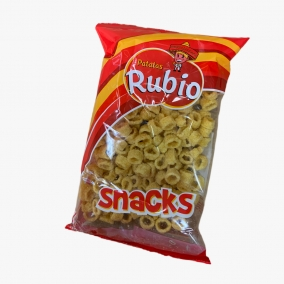SNACKS AROS PATATA RUBIO 100GR