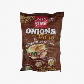 FRENCH FRIED ONIONS BAGS 400G