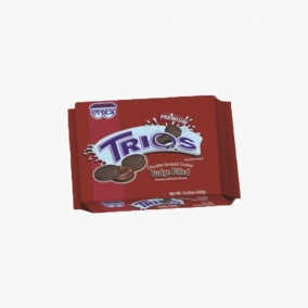 TRIOS FUDGE FILLED 482G