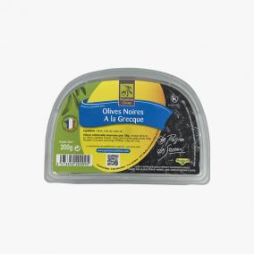OLIVES NOIRES GRECQUE 200G