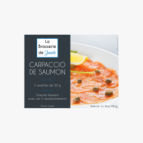 CARPACCIO DE SAUMON 2*50GR