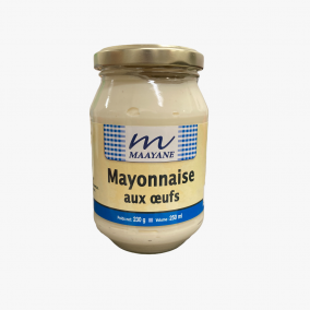 MAYONNAISE AUX OEUFS 230G