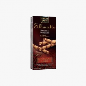 SILHOUETTE CHOCO LINED 75G
