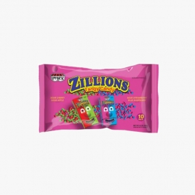 ZILLIONS TANGY CANDY 10 X16G