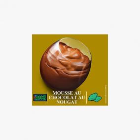 MOUSSE AU CHOCOLAT PARVE...