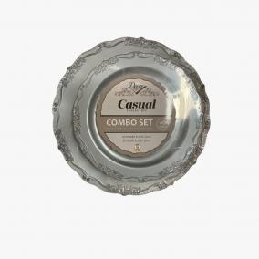 ASSIETTE ARGENT COMBO...