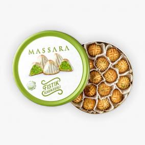 COOKIES PISTACHE MASSARA 160GR