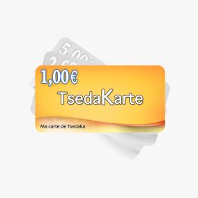 TSEDAKA 1€ euro