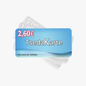TSEDAKA 2,6 euros