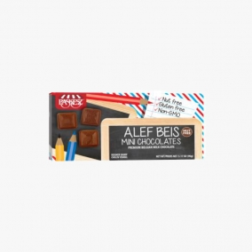 MINI CHOCOS ALEF BEIS 90 GR
