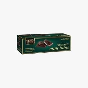 CHOCOLATE MINT THINS 200GR